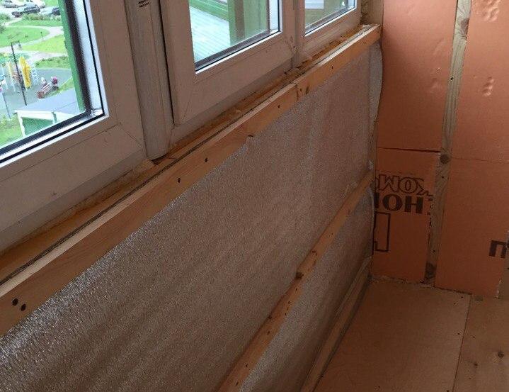 Утепление балкона своими руками: пошаговая инструкция.